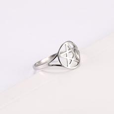 Couple Rings, Sterling, Celtic, Star