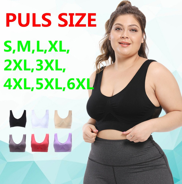 padded, Sports Bra, Plus Size, jogging