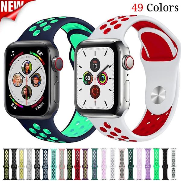 Apple, sportsiliconeiwatchband, iwatch5band, Silicone