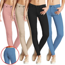 Women Pants, pencil, hightwaist, Plus Size