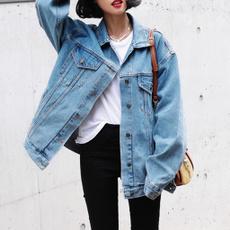 Fashion, Long Sleeve, denim jacket, Women Jacket