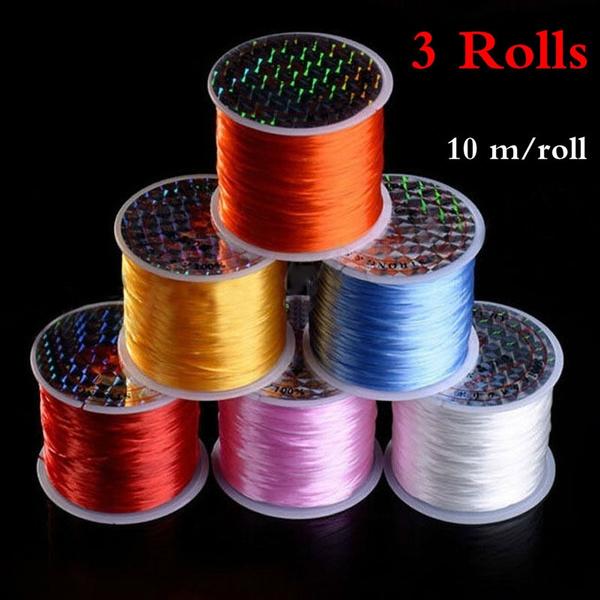 Nylon, elasticthread, cordstring, Colorful