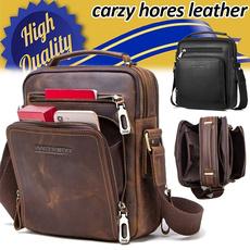 ipad, Shoulder Bags, Fashion, genuine leather bag.