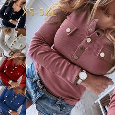 blouse, Plus Size, Cotton, Blouses & Shirts