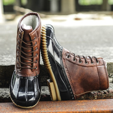 ankle boots, zippers, Leather Boots, Encaje