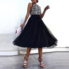 sleeveless, Club Dress, Fashion, halter dress