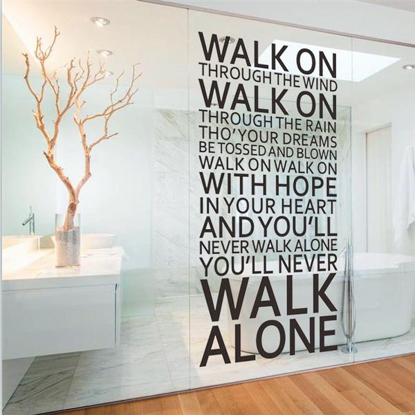 PVC wall stickers, decoration, Liverpool, art