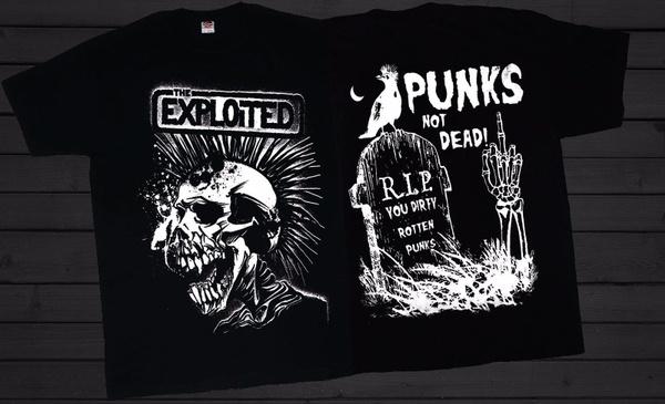 heavymetal, punktshirt, skulltshirt, Shirt