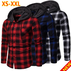 Casual Jackets, plaid, flannelshirt, Shirt