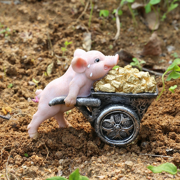cute, piglet, Gifts, fightingpig