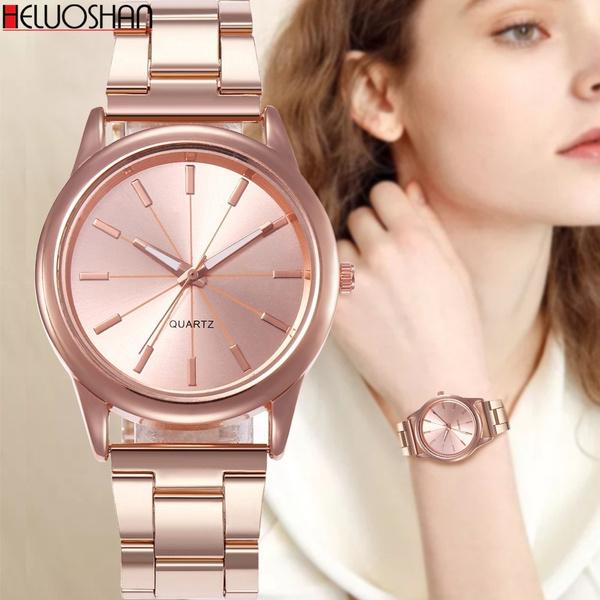 quartz, casualwatchesforwomen, rosegoldwatch, gold
