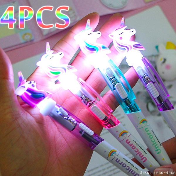 cute, ballpoint, lights, Pen