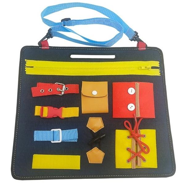Shoes, montessori, Educational, Toy