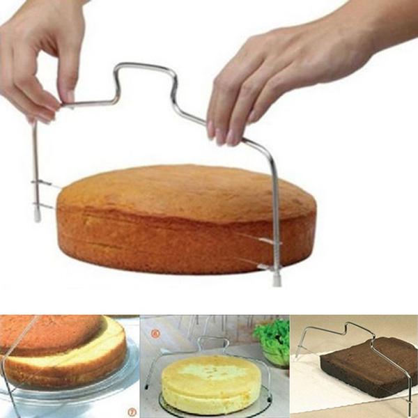 Adjustable, cakeslicer, Trimmer, Tool