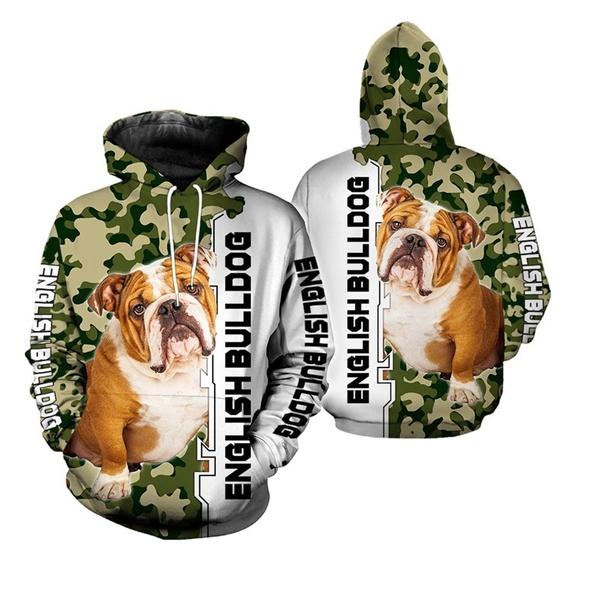 Men, Sleeve, Dogs, bulldog
