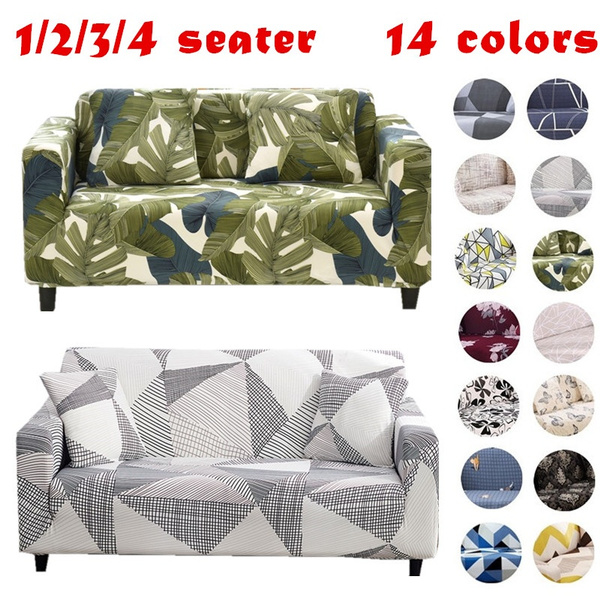 1234seater, Polyester, sofaprotector, Elastic