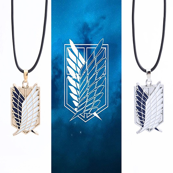 Jewelry, thewingsoffreedom, Attack on titan, 100new