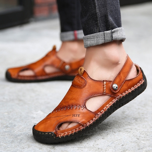 casual shoes, beach shoes, Sandals, leather shoes