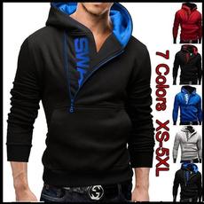 Polyester, hooded, Sleeve, polyestermenshoodie