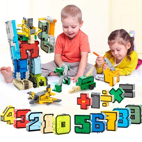 assembling, Numbers, Robot, PC