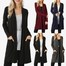 Plus Size, Fashion, cardigan, knit