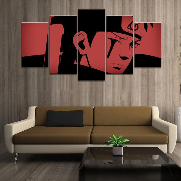 Naruto, uchiha, canvasprint, Home Decor