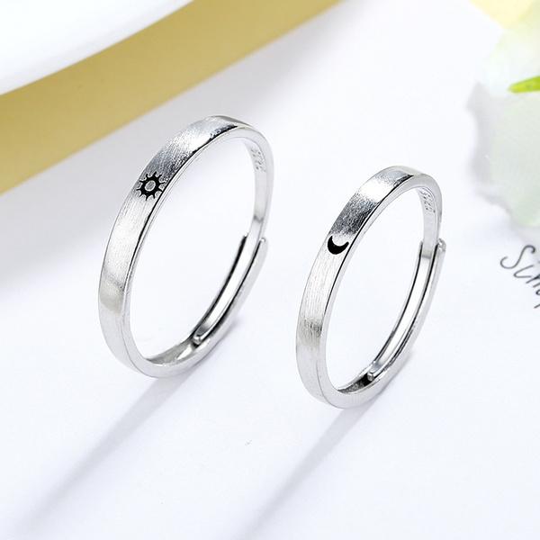 silver925, Fashion, Love, wedding ring