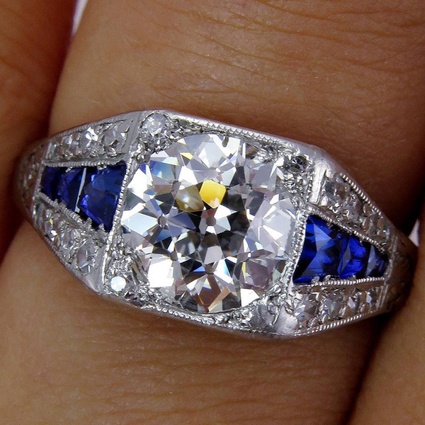 Couple Rings, Sterling, DIAMOND, Love