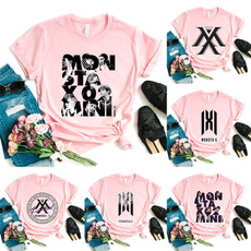 K-Pop, monstax, womencasualtop, Shirt