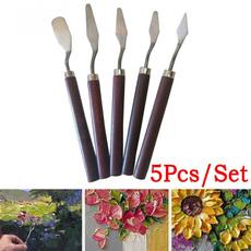 paintbrushpen, Steel, paintingknive, art