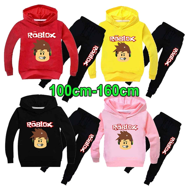roblox, Cotton, kids clothes, pullover hoodie