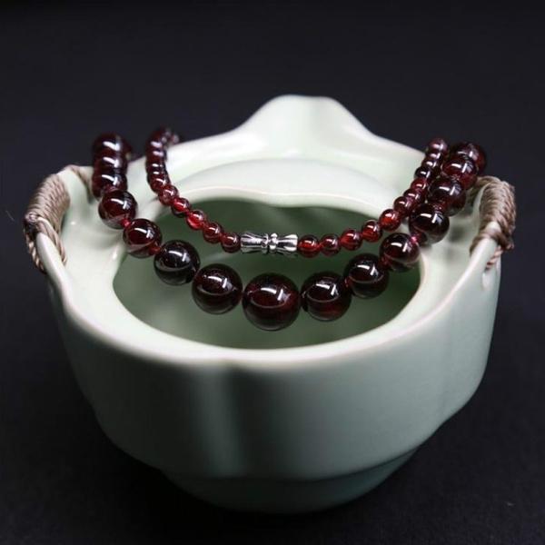 gemstonenecklace, Jewelry, Crystal Jewelry, garnet