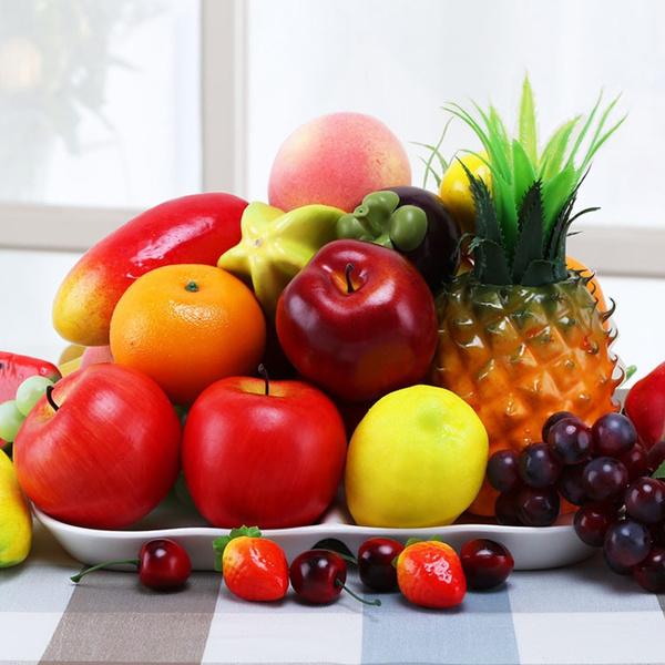 artificialvegetable, fakedecorativefruit, Home & Living, Cherry