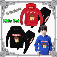 roblox, Algodón, kids clothes, pullover hoodie