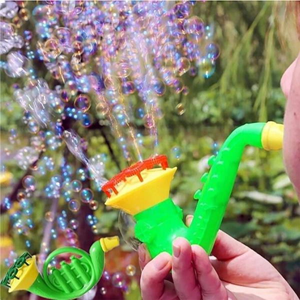 Outdoor, bubblegun, blower, water