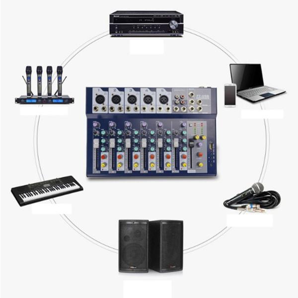 digitalusbcableaudiomixer, stageperformanceaudiomixer, Console, mixingstationcontroller