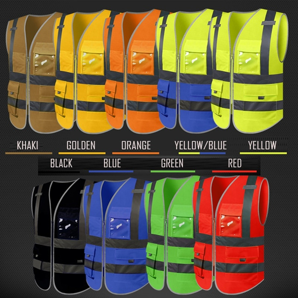 Vest, silk, trafficsafetyclothing, Yellow