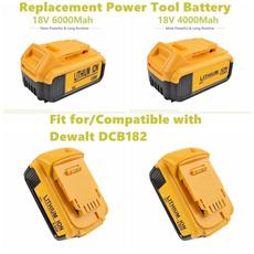 dewaltaccessorie, Rechargeable, Battery, dewaltreplacementpower