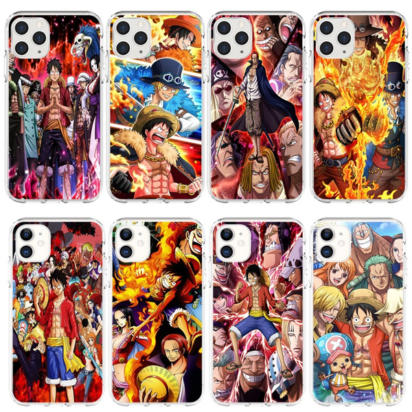20 Years Of One Piece Love Super Anime Pattern Fashion Phone Case Soft Edge Back Cover Phone Models iPhone 11/iPhone 11 Pro/iPhone 11 Pro Max/iPhone ...