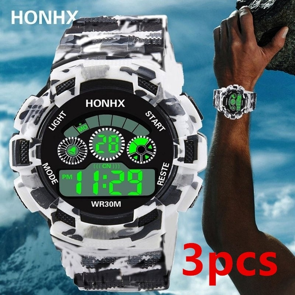 LED Watch, digitalwatche, silicone watch, Waterproof Watch
