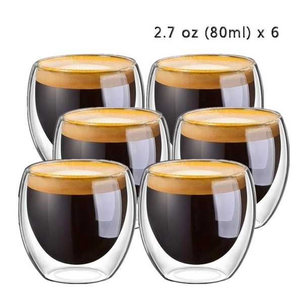 glasscup, doublewallcup, coffeeamptea, Home Decor