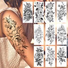 tattoosformen, tattoo, peonytattoo, art
