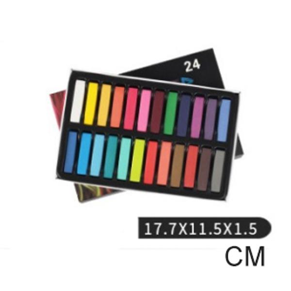haircolorchalk, Pastels, softpastelset, softpastel