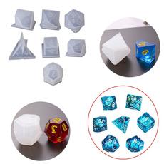 Square, Triangles, dicemold, siliconemould