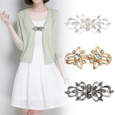 cardigan, Jewelry, Pins, Buckles