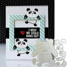 pandacuttingdie, craftscrapbooking, Stamps, cuttingdie