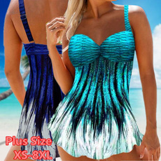 Summer, Plus Size, Fashion, women swimsuit