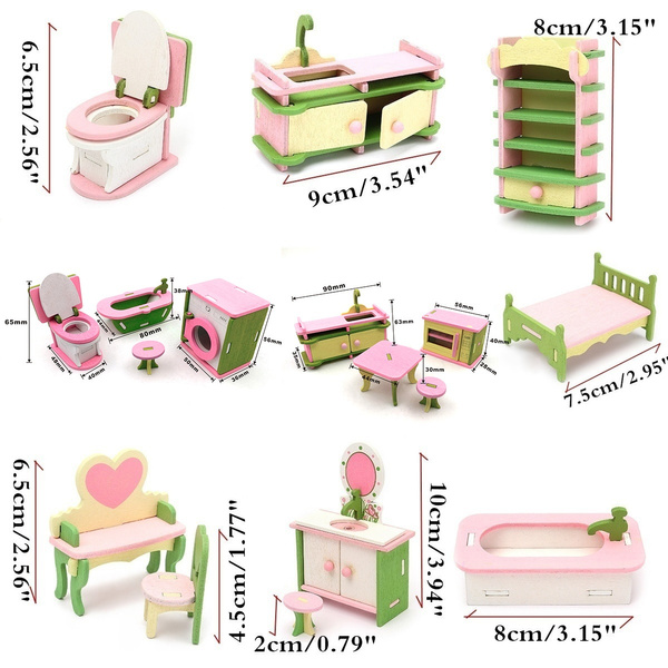 Mini, dollhousefurniture, Toys and Hobbies, doll