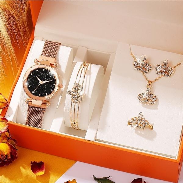 magnetbucklewatch, Fashion, crownjewelry, jewelry watch
