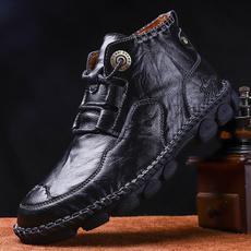 brown, Men, dressboot, casual shoes for men